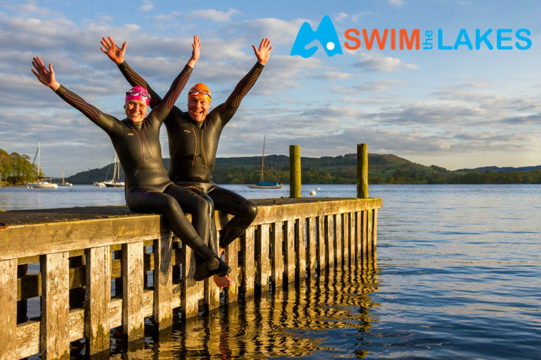 Swimming in Windermere